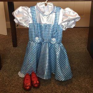 Dorothy Dress-Up / Halloween Costume - Small